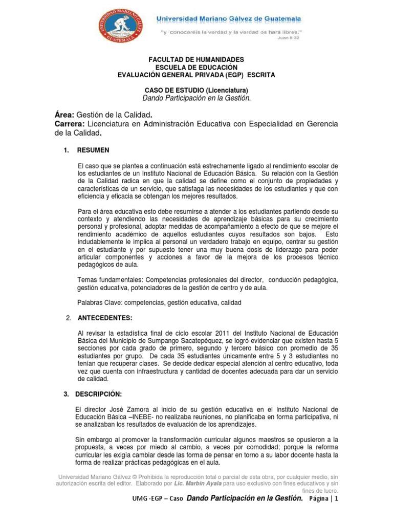 UMG+EGP+LIC+3+Dando+Participación+en+la+Gestión