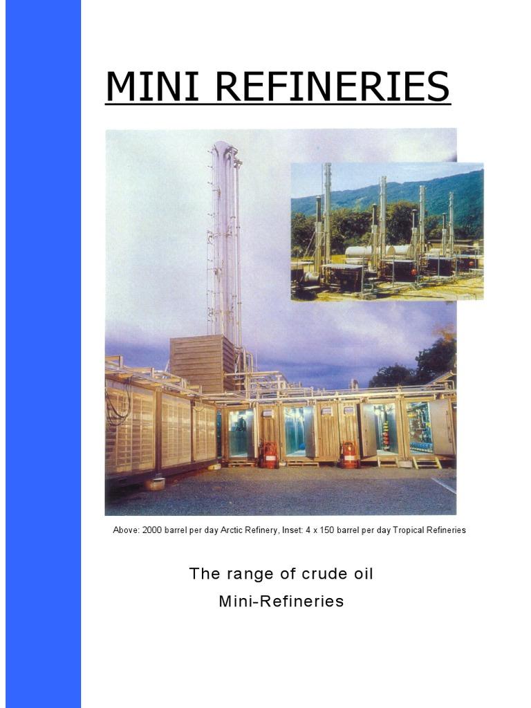 Mini Refineries Range Nc | Oil Refinery | Fuel Oil