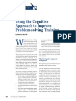Using the Cognitive Approach