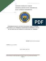 Ejercicio y Metodología-Diseño de Experimentos