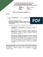 Pauta Solución Certamen Nº 1 04-06-11
