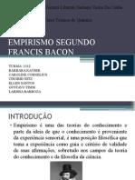 EMPIRISMO SEGUNDO FRANCIS BACON.pptx