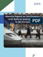 Biennial Report on the Progress with Railway Interoperability in the European Union