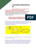 Megapost circuitos electronicos