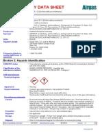 MSDS Halocarbon R-12