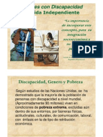 Mujeres con discapacidad y vida independiente[1]