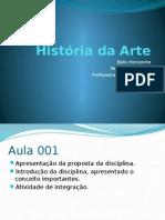 Aula de Historia da Arte