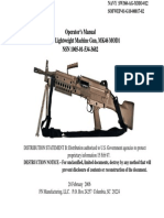 Sw360-Ag-mmo-012 5.56mm Lightweight Machine Gun,Mk46 Mod 1 Feb. 2006