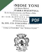 Baroque Guitar, Granata 1684