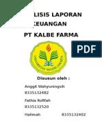 Analisis Laporan Keuangan Kalbe Farma Kelompok 2