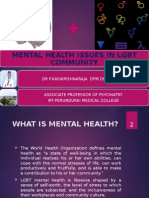 Mental Health Issues in LGBT Community 4