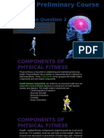 5  health and skill related components of fitness