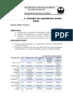 Práctica 3-Analítica- Estudio de Equilibrios Ácido-base