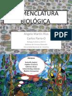 Nomenclatura Biológica 2013-II