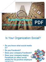 Online Organizing and Social Media WPR