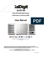 CalDigit s2vr Hd Manual