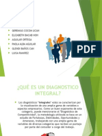 Diagnóstico Integral ejemplo