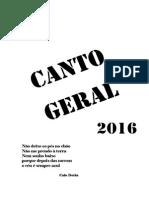 Canto Geral - Carta Programa 2016