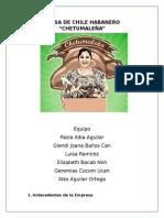 Salsa Chetumaleña-Direccion de Capital Humano II