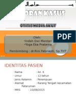 OMA Case Report at Banjar
