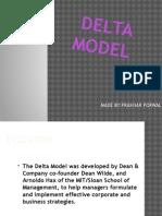 Delta Model PowerPoint Presentation