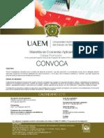 Convocatoria Maestría en Conomía Aplicada 2015
