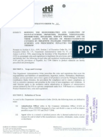 DAO 2-2007. Responsibilities of Manufacturers