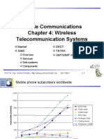 C04 Wireless Telecommunication Systems