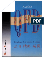 QFD Despliegue de La Función de La Calidad - A. Zaïdi