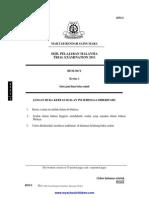 Biology Paper 1, 2, 3 Trial SPM 2011 MRSM