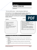 Module 1- Grammar and Language Structures [Being Concise]