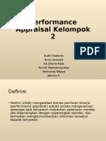 Performance Appraisal Kelompok 2