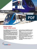 ANSALDO BREDA - Madrid Serie7000-9000