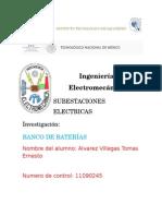 Banco de Baterías Tomas Ernesto Alvarez Villegas 11090245