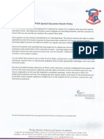 Special Education Needs Policy