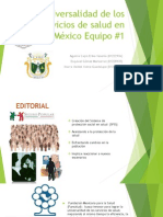 Universalidad de Los Servicios de Salud en México