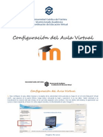 Manual Para Configurar El Aula Virtual