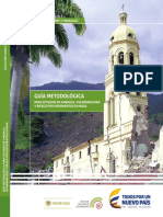 Guía Metodológica Para Estudios de Amenaza, Vulnerabilidad y Riesgo Por Movimientos en Masa
