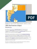 rios importantes argentina