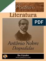 Despedidas - Antônio Nobre - Iba Mendes