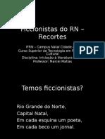 Ficcionistas Do RN 2013 Recortes
