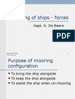 Mooring of Ships - Forces