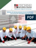 Manual de InstalaciÓn de Techo Aligerado Con Vigueta Prefabricada de Acero