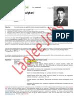 Aamir Ali Afghani - ACMA-Finance Executive
