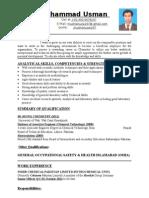 New CV Usman 2015