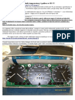VW passat B3_Wskazniki Temperatury i Poziomu Paliwa - Naprawa