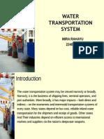 Water Transportasi System