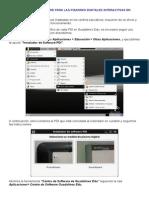 Instalación Del Software Para Las Pizarras Digitales Interactivas en Guadalinex 10.04