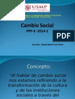 Cambio Social.