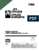 YBR125G Partes